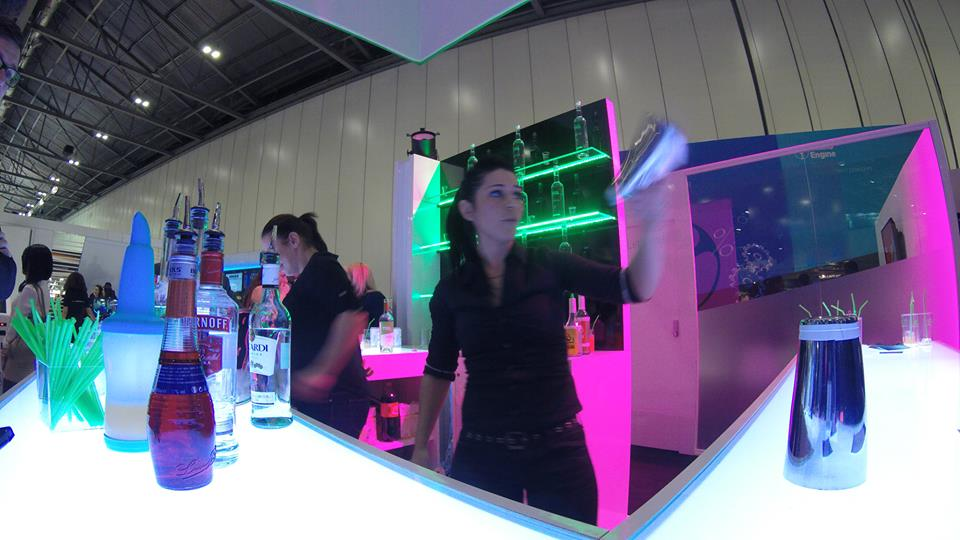 Exhibition Stand Hire Edinburgh : Corporate events trade shows hire a cocktail bartender