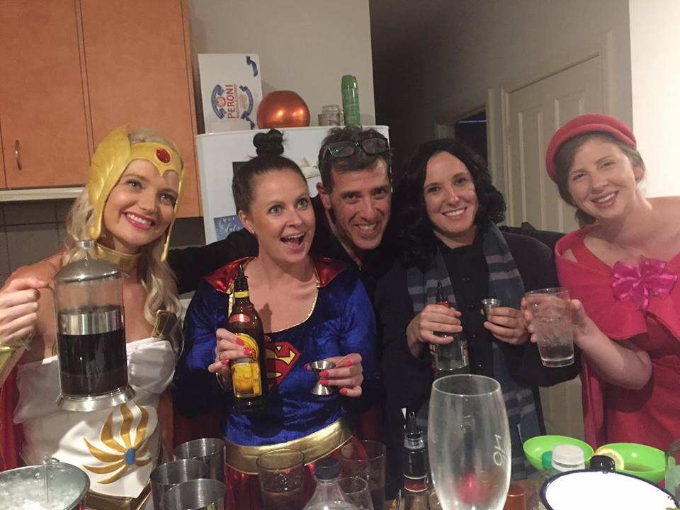 hen party cocktails class