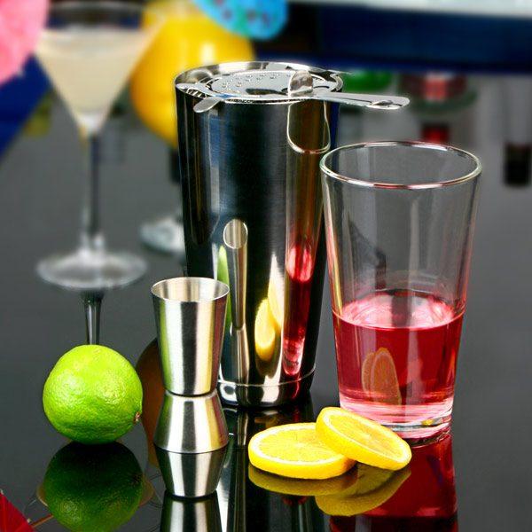 Basic Cocktail Shaker Set