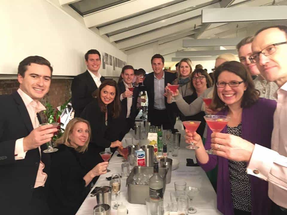 team building cocktail class